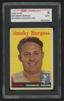 1958 Topps #49 Smoky Burgess (SGC Authentic) at PristineAuction.com