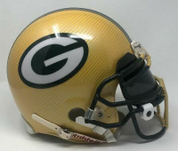 Green Bay Packers Custom Hydro Dipped Full-Size Authentic On-Field Helmet at PristineAuction.com