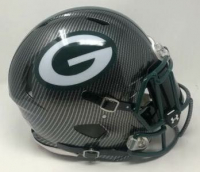 Green Bay Packers Custom Hydro Dipped Full-Size Authentic On-Field Speed Helmet at PristineAuction.com