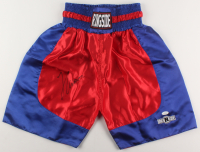 Julio Cesar Chavez Signed Boxing Trunks (JSA COA) at PristineAuction.com