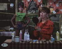 "Dawn Wells & Tina Louise Signed ""Gilligan's Island"" 8x10 Photo With Multiple Inscriptions (Beckett COA) at PristineAuction.com"