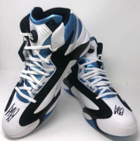 Shaquille O'Neal Signed Size 22 Reebok The Pump Shoes (Fanatics Hologram) at PristineAuction.com
