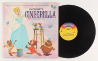 "Vintage 1969 Walt Disney ""Cinderella"" Vinyl Record Album at PristineAuction.com"