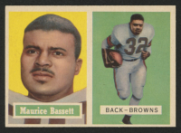1957 Topps #64 Maurice Bassett at PristineAuction.com
