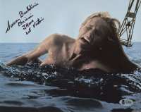 """Susan Backlinie Signed """"Jaws"""" 8x10 Photo Inscribed """"Chrissie"""" & """"Jaws 1st Victim"""" (Beckett COA) at PristineAuction.com"""