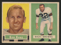 1957 Topps #52 Kenny Konz at PristineAuction.com