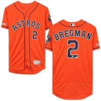 Alex Bregman Signed Houston Astros Jersey (Fanatics Hologram) at PristineAuction.com