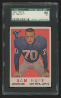 1959 Topps #51 Sam Huff RC (SGC 5) at PristineAuction.com