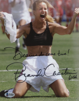 "Brandi Chastain Signed Team USA 8x10 Photo Inscribed ""USA"" & ""Dreams Do Come True!"" (Beckett COA) at PristineAuction.com"