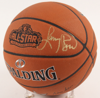 Larry Bird Signed 2017 NBA All-Star Official Game Ball Basketball (PSA COA) at PristineAuction.com