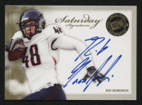 2010 Press Pass PE Sideline Signatures Gold #SSRG Rob Gronkowski at PristineAuction.com