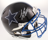 Leighton Vander Esch Signed Dallas Cowboys Full-Size Helmet (Beckett COA) at PristineAuction.com