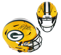 Davante Adams Signed Packers Full-Size Authentic On-Field SpeedFlex Helmet (Radtke COA) at PristineAuction.com