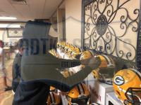 Davante Adams Signed Packers Full-Size Authentic On-Field SpeedFlex Helmet (Radtke COA) at PristineAuction.com