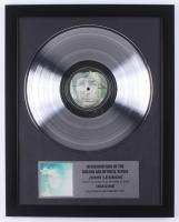 "John Lennon 15.75x19.75 Custom Framed Gold Plated ""Imagine"" Record Album Award Display at PristineAuction.com"