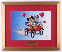 "Walt Disney's Mickey & Minnie Mouse ""Nifty Nineties"" 16x19 Custom Framed Hand-Painted Animation Serigraph Display at PristineAuction.com"
