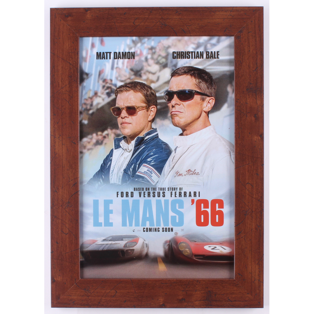 """""""Ford V Ferrari"""" 14.5x20.5 Custom Framed Movie Poster"""
