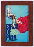 """Birds of Prey"" 14.5x20.5 Custom Framed Movie Poster Display at PristineAuction.com"