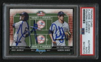 Aaron Judge & Eric Jagielo Signed 2013 Bowman Draft Dual Draftee #JJ (PSA Encapsulated) at PristineAuction.com