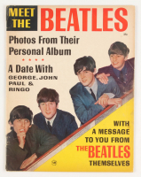 "Vintage 1963 ""Meet the Beatles"" Magazine at PristineAuction.com"
