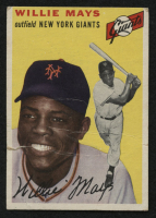 1954 Topps #90 Willie Mays at PristineAuction.com