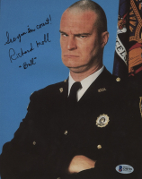 """Richard Moll Signed """"Night Court"""" 8x10 Photo Inscribed """"See You In Court!"""" & """"Bull"""" (Beckett COA) at PristineAuction.com"""
