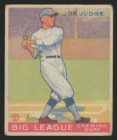 1933 Goudey #155 Joe Judge RC at PristineAuction.com