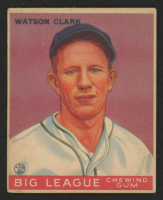 1933 Goudey #17 Watson Clark RC at PristineAuction.com