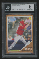 2011 Topps Heritage Minors #16 Bryce Harper (BGS 9) at PristineAuction.com