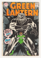 """1968 """"Green Lantern"""" Issue #58 DC Comic Book at PristineAuction.com"""