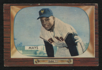 1955 Bowman #184 Willie Mays at PristineAuction.com