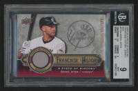 2009 UD A Piece of History Franchise History Jersey Red #FHDJ Derek Jeter (BGS 9) at PristineAuction.com