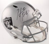 Hunter Renfrow Signed Oakland Raiders Full-Size Speed Helmet (Beckett COA) at PristineAuction.com