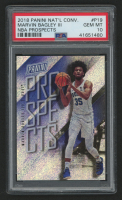 2018 Panini National Convention Basketball Prospects #P19 Marvin Bagley III (PSA 10) at PristineAuction.com