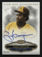 2013 Topps Tier One Autographs #TG Tony Gwynn at PristineAuction.com
