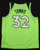 Karl-Anthony Towns Signed Minnesota Timberwolves Jersey (Towns COA) at PristineAuction.com