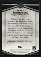 2012 Topps Tier One Autographs #FR Frank Robinson at PristineAuction.com