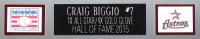 Craig Biggio Signed 35x43 Custom Framed Jersey (TriStar Hologram) at PristineAuction.com
