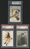 Lot of (3) Graded Jack Wilson Baseball Cards With 2001 SP Authentic Limited #131 (PSA 9), 2001 Bowman Heritage #95 (PSA 9) & 2001 Fleer Authority #109 (BGS 8.5) at PristineAuction.com