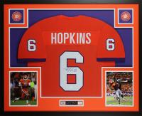 DeAndre Hopkins Signed 35x43 Custom Framed Jersey (JSA COA) at PristineAuction.com