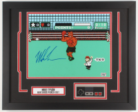 "Mike Tyson Signed ""Punch-Out!!"" 18x22 Custom Framed Photo Display with Nintendo Controller (Fiterman Sports Hologram) at PristineAuction.com"