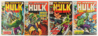 """Lot of (4) 1970 """"The Incredible Hulk"""" 1st Series Marvel Comic Books at PristineAuction.com"""