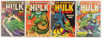"Lot of (4) 1968-1970 ""The Incredible Hulk"" 1st Series Marvel Comic Books at PristineAuction.com"