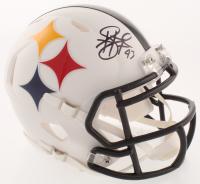 Troy Polamalu Signed Pittsburgh Steelers AMP Mini Speed Helmet (Beckett COA) at PristineAuction.com