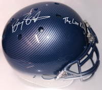 """Barry Sanders Signed Custom Hydro Dipped Full-Size Authentic On-Field Helmet Inscribed """"The Lion King"""" (PSA Hologram & Schwartz Sports Hologram) at PristineAuction.com"""