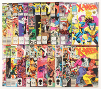 "Lot of (22) 1963 ""Uncanny X-Men"" 1st Series Marvel Comic Books from #139-281 at PristineAuction.com"