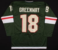 Jordan Greenway Signed Jersey (Beckett COA) at PristineAuction.com