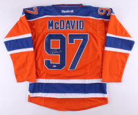 Connor McDavid Signed Edmonton Oilers Captain Jersey (Beckett COA) at PristineAuction.com