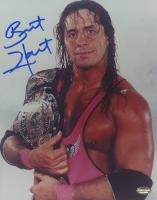 Bret Hart Signed WWE 8x10 Photo (Schwartz COA) at PristineAuction.com