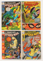 "Lot of (4) 1971 ""The Amazing Spider-Man"" 1st Series Marvel Comic Books at PristineAuction.com"